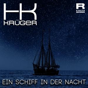 HK Krüger - Ein Schiff in der Nacht